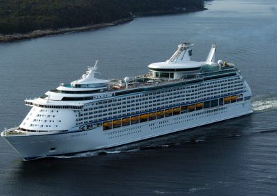 Early-Bird Prize: Alaskan Glacier Cruise.  Airfare for two and 7-nights aboard the Royal Caribbean Explorer of the Seas in an ocean view stateroom.  Buy tickets by 7:30pm on Oct. 29 to be entered.