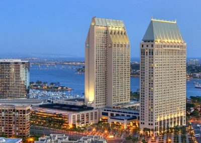 Refer-A-Friend Prize: Airfare for two to San Diego, California and a 3-night stay at the Manchester Grand Hyatt Premier Presidential Suite